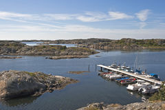 Small harbour Stock Photography
