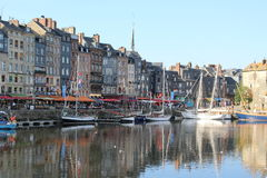 Small harbour with boats Royalty Free Stock Photo