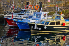 Boats in rest Royalty Free Stock Image