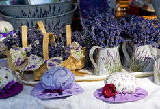 Free Small Hats With Lavender Royalty Free Stock Photography - 31803777