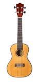 Small Hawaiian four stringed ukulele guitar Stock Photography