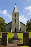 Small Hawaiian town church Royalty Free Stock Image