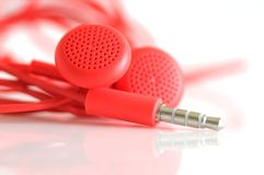 Small headphones Royalty Free Stock Images