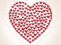 Small heart valentine's day Royalty Free Stock Photo