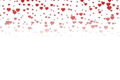 Small hearts background Stock Photography
