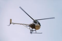 Small helicopter Royalty Free Stock Photo