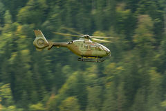 Small Helicopter Military, Switzerland, UE Royalty Free Stock Images