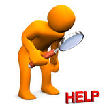 Small Help Stock Photo