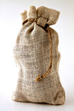 Small hemp bag Stock Image
