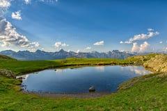 Small high lake Stock Image