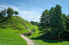 small hill in Merkine Royalty Free Stock Image