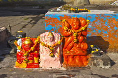 Small Hindu shrine Royalty Free Stock Image