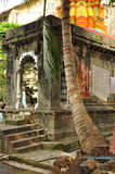 Small Hindu temple in Mumbai, India Stock Photos