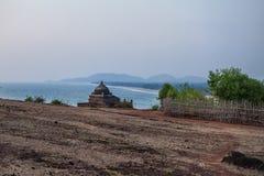 Small Hindu temple on the ocean Stock Photo