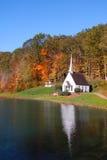Small historic church Stock Photo