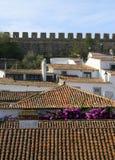 Small Historical European Town Obidos Royalty Free Stock Photos