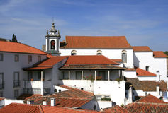 Small Historical European town Obidos Stock Photography
