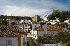 Small Historical European Town Obidos Stock Photos