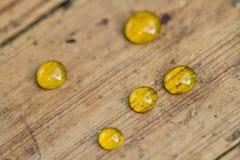 Small Honey drops Stock Photo