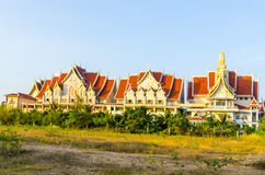 Small hotel in the Thai style. Royalty Free Stock Images