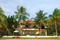 Small hotel in tropics. Image of small hotel in tropics Royalty Free Stock Images