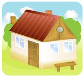 A small house Royalty Free Stock Photography