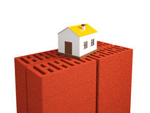 A small house Stock Photo