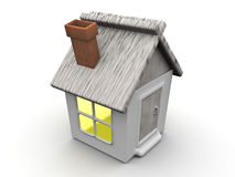 Small house Royalty Free Stock Image