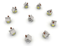 Small house Royalty Free Stock Photography