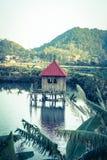 Small house, Cat Ba island at Ha Long Bay in Vietnam Royalty Free Stock Photos