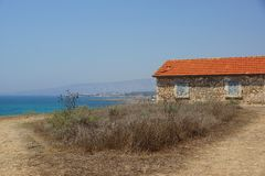 Small house in Cyprus Royalty Free Stock Photos