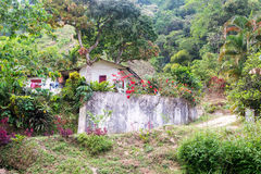 Small House on a Farm royalty free stock photos