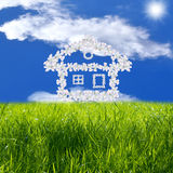 Small house of happiness Royalty Free Stock Photography