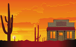 Free Small House In The Desert Stock Photography - 20186622