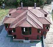 Small house in Istanbul Royalty Free Stock Images