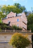 Small house in Karlsbad (Karlovy Vary) Stock Images