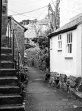 A small house in Mousehole. A small house house in Mousehole Stock Photos