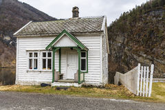 A small house in Norway Royalty Free Stock Photo