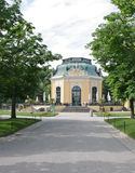 Small house in Schonbrunn zoo Royalty Free Stock Images