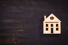Small house symbol Stock Images