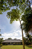 Small house in the tropics Stock Image