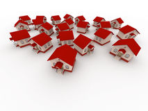Small Houses Stock Image