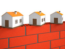A small houses Royalty Free Stock Photo