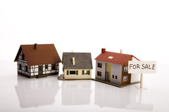 Small houses for sale Stock Image