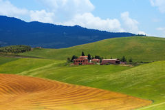 Small houses in Tuscany Italy Stock Photography