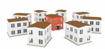 A small houses Stock Photos