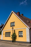 Small houses in Ystad Royalty Free Stock Photos