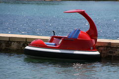 Small hovercraft Royalty Free Stock Photography