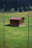 Mountain Hut. Small hut in the alps. Italy Royalty Free Stock Images
