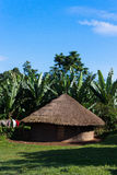 Small Hut in Ethiopia Royalty Free Stock Photos